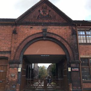 陶器の街ストーク・オン・トレントへ2  バーレイの工場へ