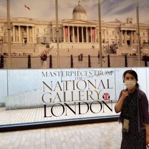 ロンドン ナショナルギャラリー展へ