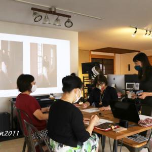 久しぶりに写真講座開催 in レンタルスタジオ plus photo(プラスフォト)
