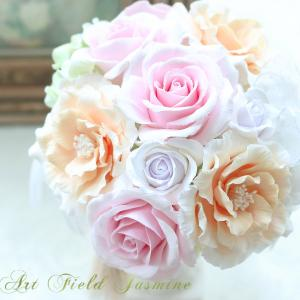 クレイのアンティークローズとオリーブ 〜 Clay's antique color ros...