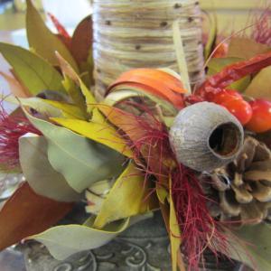 ドライお花教室生徒さん作品&お客様ご注文の寄せ植え。