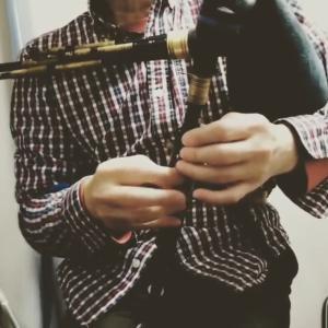 ノーサンブリアン・スモールパイプでノーサンバーランドのマーチを弾いてみました