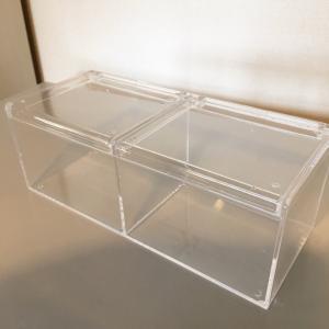 新しい食器棚にセリア品で新しい爪楊枝収納☆