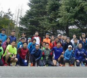 駒沢公園で初のペース走