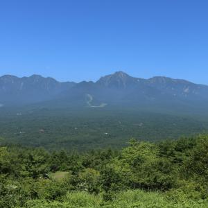 「八ヶ岳連山」の展望台