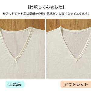 チコリ紳士用半袖インナーの襟幅が少〜し狭いアウトレットが出ます……!!