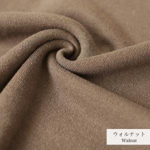 カシミヤシルクコットンの地球の糸で編み上げたトップスとワイドパンツは……!?