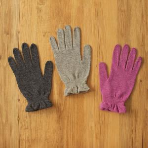 天然素材の手袋を2種類のご紹介です。(クィーンウールシルクやわらか手袋編)