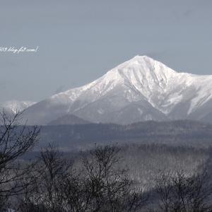 白き山 北海道十勝
