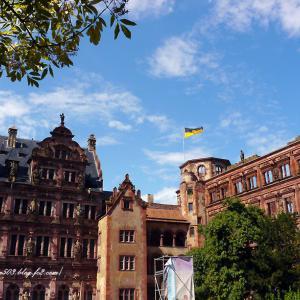 ハイデルベルク城 フリードリッヒ館とオットハインリヒ館