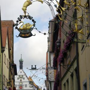 ローテンブルクの素敵なアイアンワーク