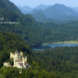 山と湖とホーエンシュバンガウ城