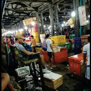 チンミンダイ魚市場の移転計画