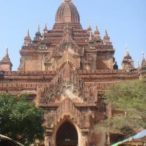 ミャンマーの高僧、バガンの世界遺産登録に不快感
