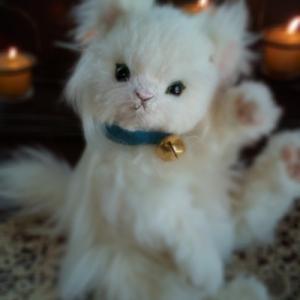 【オーダー作品紹介】お家の猫ちゃん(№23)