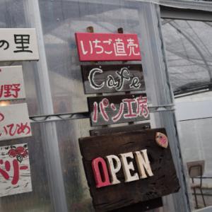 2月、うにのうちのこ記念日旅行 ① いちごカフェと海さんぽ