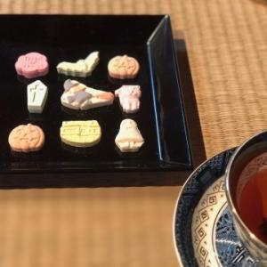 11月のお稽古より〜ハロウィン・栗・菊〜