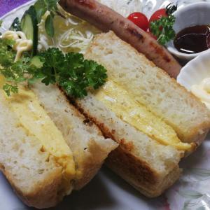 ゴトウパンの食パンで「わさびチーズトースト」
