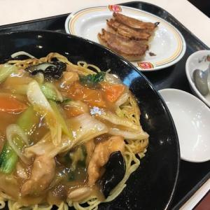 【餃子の王将】 中華ランチ