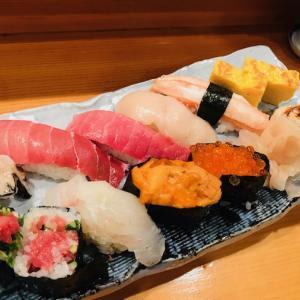 【お昼ごはん】 握り寿司