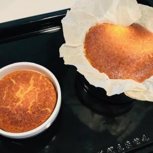 手作り バスク風チーズケーキ