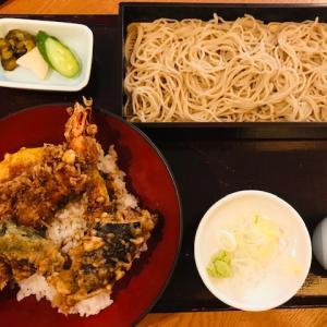 女子会@お蕎麦&海老天丼
