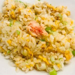 麻婆豆腐&蟹炒飯でお昼ごはん