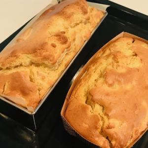 【簡単】 さつま芋とりんごのケーキ