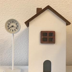 【無印良品】 公園の時計 &パイナップルバウム
