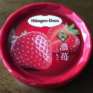 【ハーゲンダッツ】 濃苺 アイス