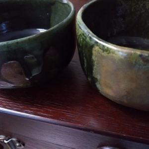 ■抹茶茶碗とおちょこ■