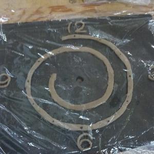 ■陶板時計のオーダー■