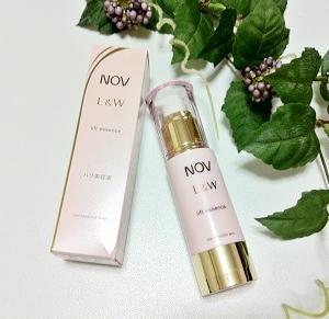 大人肌をふっくらハリ肌へ導く美容液♪「ノブ L&W リフトエッセンス」