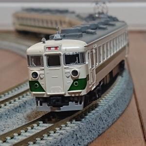 KATO 455系 グリーンライナー