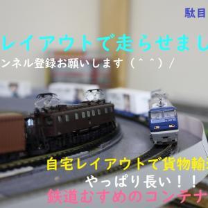 【Nゲージ】鉄道むすめ コンテナ20両 引きました♪