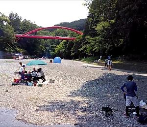 飯能河原でソロキャンプ!!