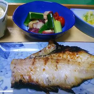 赤鯛の焼き魚美味かった
