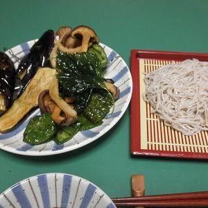 お昼の天ぷらそばは旨かった!