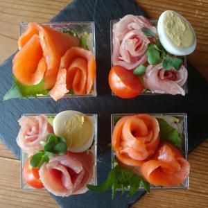春のおもてなし、カップ寿司