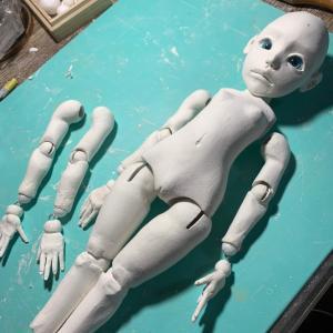 小さい人形たちの進捗