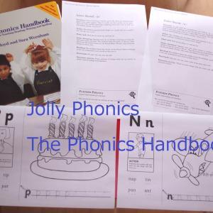 """コピー使用が可能な教材""""The Phonics Handbook"""""""