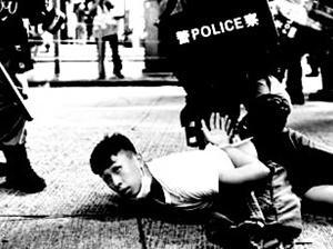 悪法施行の中国を許すまじ