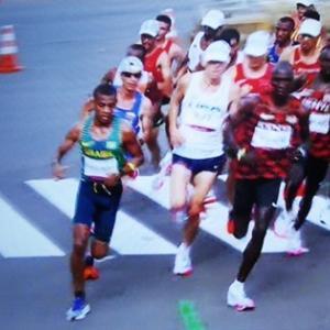 東京マラソンの感動シーン