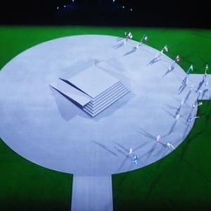 オリンピック閉会式の風景①