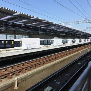 JR梅小路京都西駅に行きました・パート2(H31.04.08月曜日)