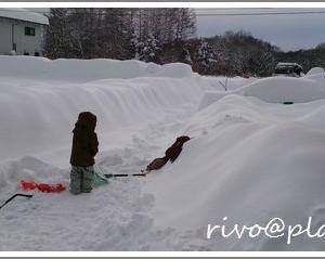 過去最高の積雪量