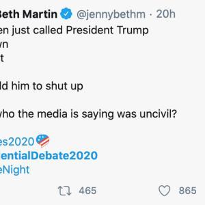 悪魔、それともジョーク?大統領選ディベート