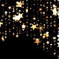 les bonbon 三ツ星のゴールドネックレス・ピアス
