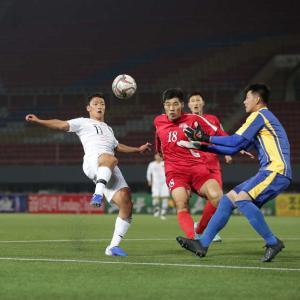韓国サッカー代表「ミーティングを盗聴された」 北朝鮮「戦略だ」
