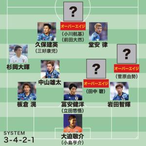 <東京五輪メンバー予想>18枠を勝ち取る顔ぶれは?15枠をU-22代表の選手で争う構図
